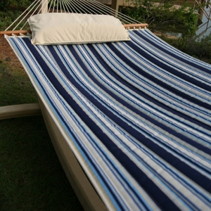 The Hamptons Summer Stripe Quilted Hammock