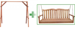 Acacia Swing and A-Frame