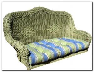 Outdoor Wicker Swing Cushion (Cushion Only)