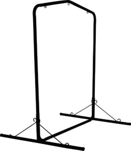 Black Steel Swing Frame