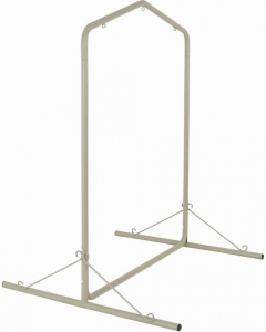 Taupe Steel Swing Frame