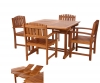 5pc. Extension Dining Chair Set