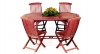 Acacia 5 Piece Dining Set