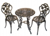 Bronze Metal Bistro Set
