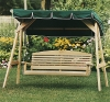 3 Person Cypress Classic Swing (Frame and Canopy not Included)