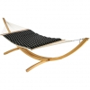 Classic Black Stripe Pillowtop Hammock