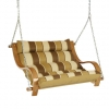 Rio Birch Cushioned Outdoor Double Swing