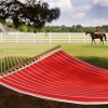 Royal Red Stripe Quilted Hammock