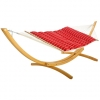 Royal Red Stripe Pillowtop Hammock