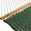 Forest Green Soft Weave Hammock