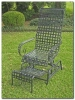 Mandalay Coil Spring Rocking Chair w/ Footrest