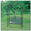 Mandalay Iron KD Arbor bench