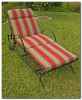 Multi-Position Single Iron Chaise Lounge