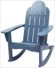 Newport Blue Adirondack Rocking Chair