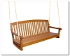 Pacific Balau Three Seater Swing