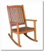 Pacific Balau Large Rocking Chair