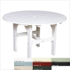 Black Polyresin Dining Table (46 Inches)
