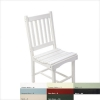 White Polyresin Side Chair