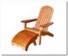 Royal Tahiti Adirondack Chair with Footrest