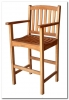 Royal Tahiti Bar Height Arm Chair