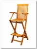 Custom Order Royal Tahiti Folding Bar Chair