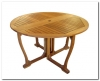 Royal Tahiti Round Gate Leg Table