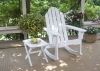 Surf White Adirondack Rocking Chair