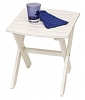 Surf White Nantucket Rectangular Side Table