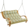 Spring Bay Cushioned Outdoor Double Swing