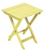 Yellow Adirondack Side Table